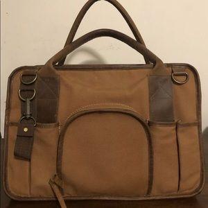 United By Blue, brown, weekend duffle bag